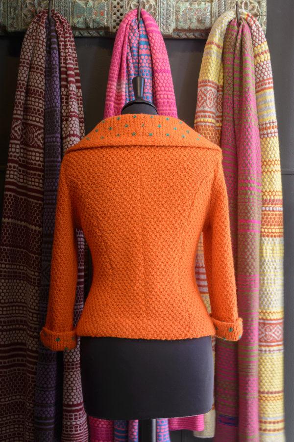 Kathrens Rare Knitwear Pixie Hand Knit - back