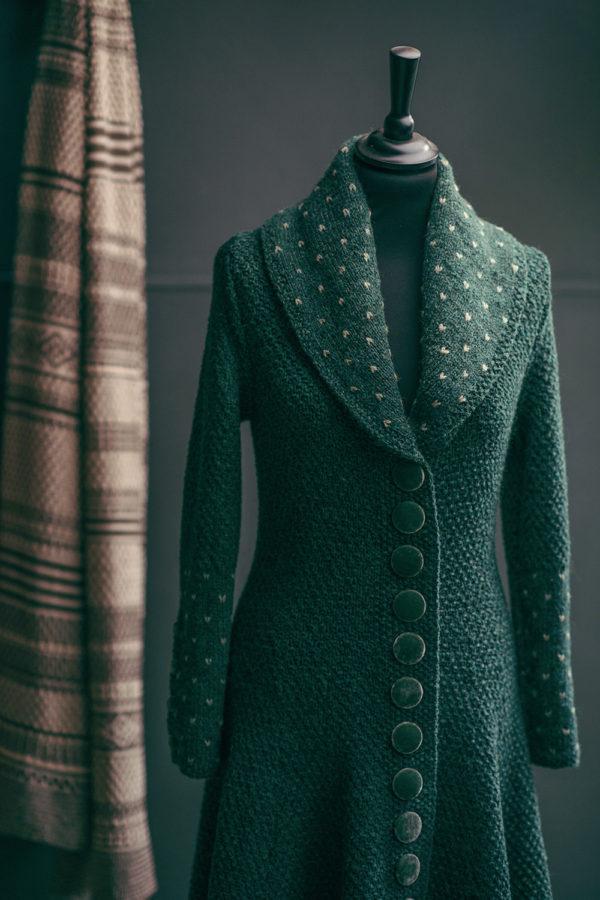 Kathrens Rare Knitwear Ethel Hand Knit - detail